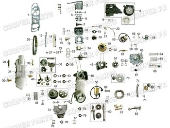 GY6 150cc ENGINE PARTS(157QMJ)