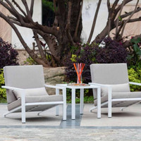 Aluminum Table And Chair Stackable Home