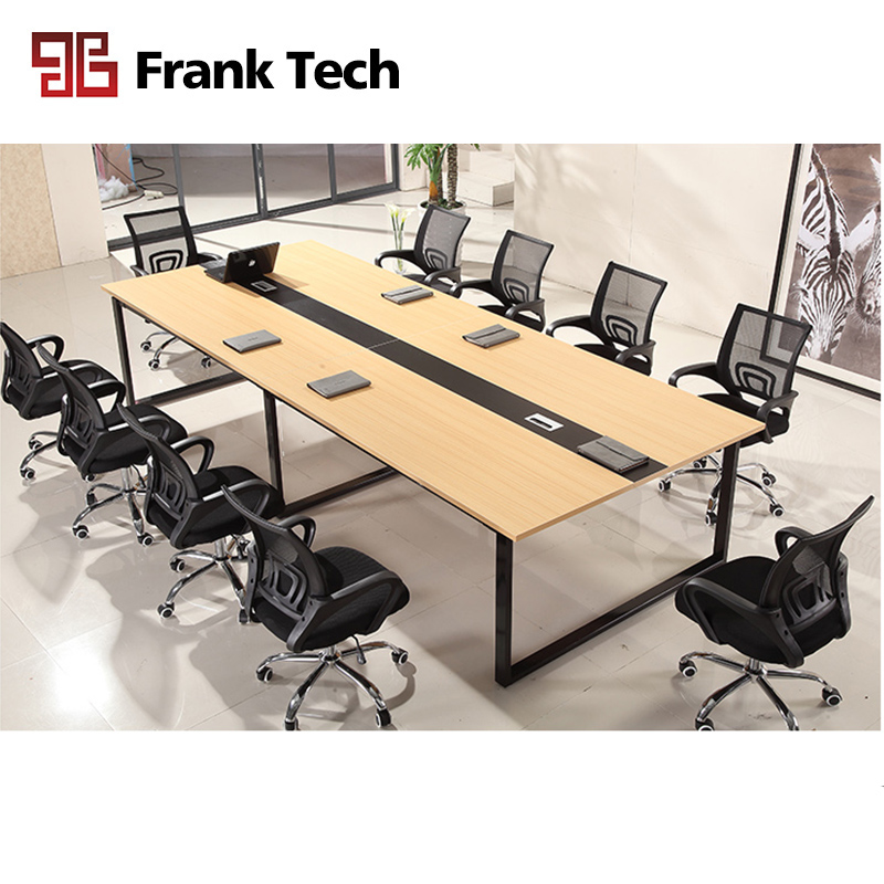 Metal Cassia Leg Rectangular Conference Table
