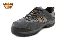 new popular design factory safety shoes suede leather double density safety shoes (GW705)