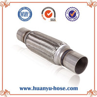 silencer exhaust stainless car with nipple for car parts