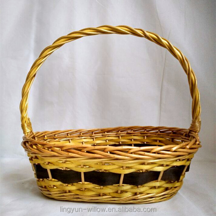 cheap wicker baskets for fruit or gift