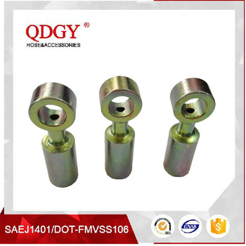 auto spare parts DOT brake hose fittings