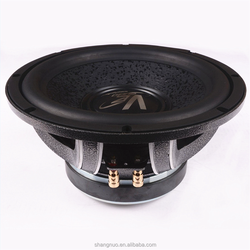 Professional factory 10'' hifi passive car speaker subwoofers