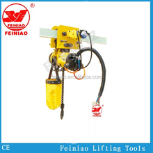 Excellent Quality Pneumatic Air Chain Hoist 0.1 Ton~10 Ton