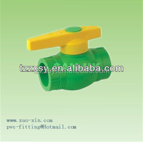 PPR copper core BALL VALVE