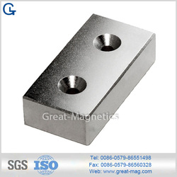 Block Shape permanent magnet-Ndfeb(Neodymium) magnet for motor parts