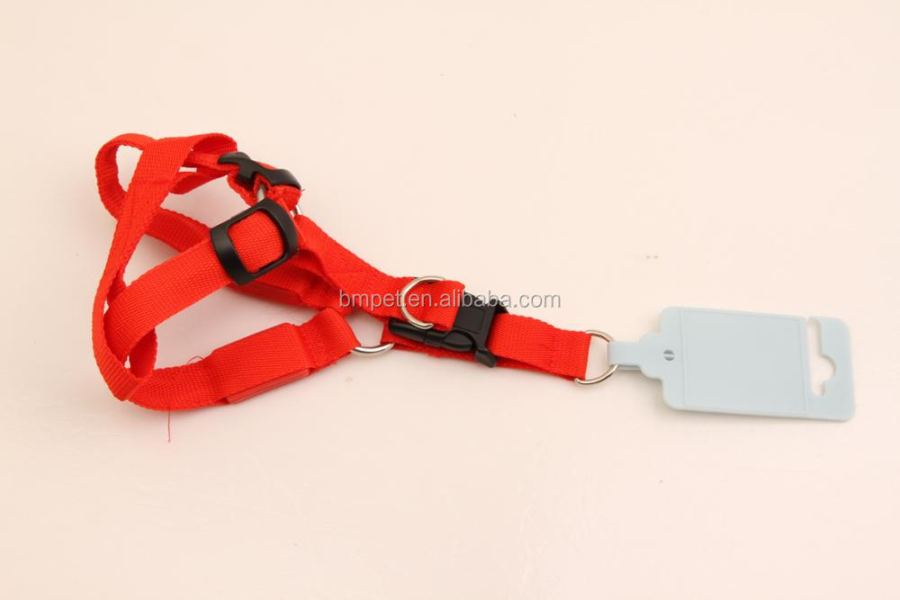 Flashing Led Light Night Walking Led Dog Harness
