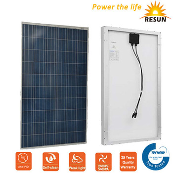 260W poly solar panel, solar cells with TUV, IEC, CE for solar systems home