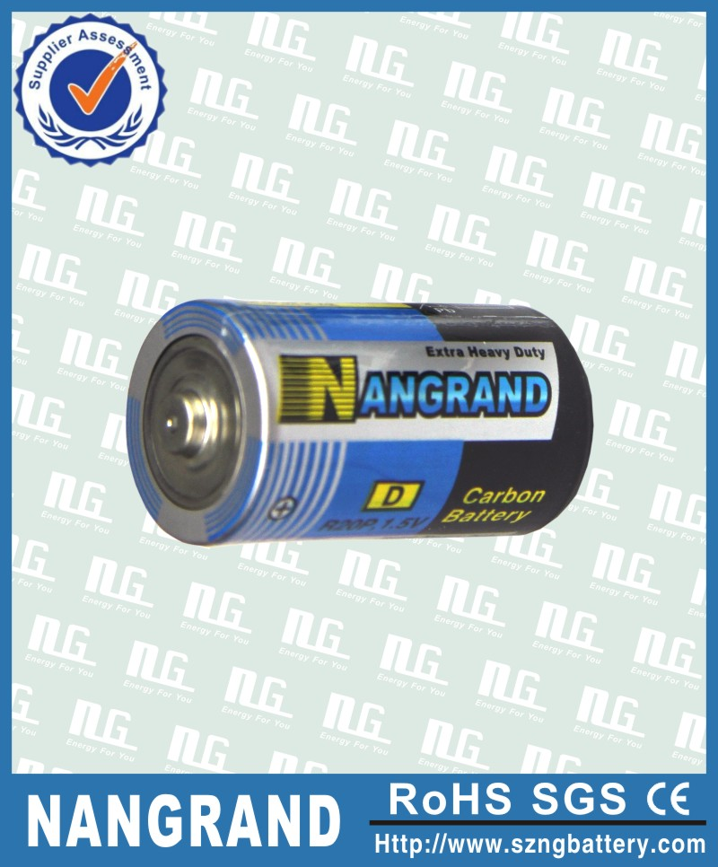Factory price r20 dry battery 1.5v um1 with blister card
