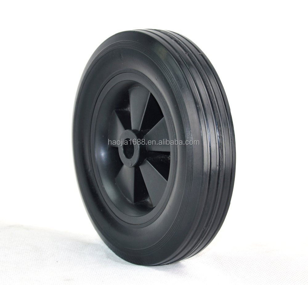 6X1.5 plastic core mower rubber caster <strong>wheel</strong>