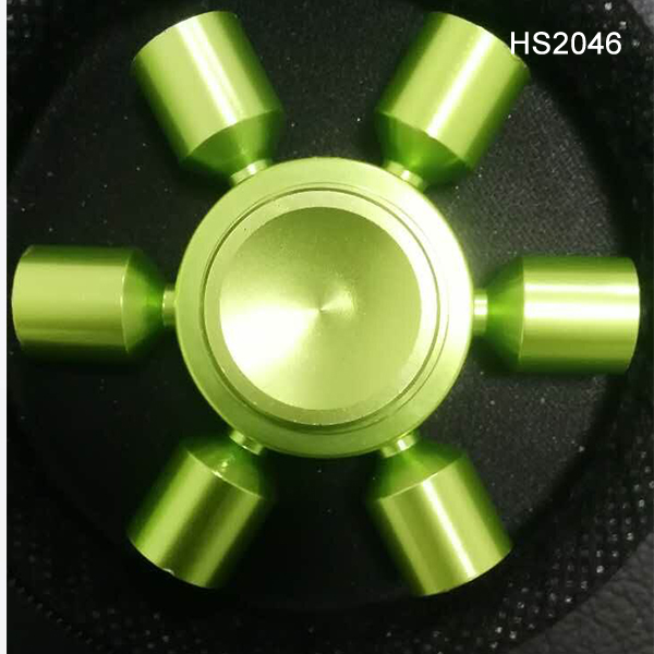 Removable 6 Arms Hand Spinner Edc Finger Gyroscope Spinner Toy