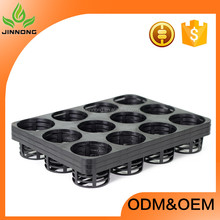 High quality gardening orchid tray 12 holes, flower pot placed tray, seedling plant tray