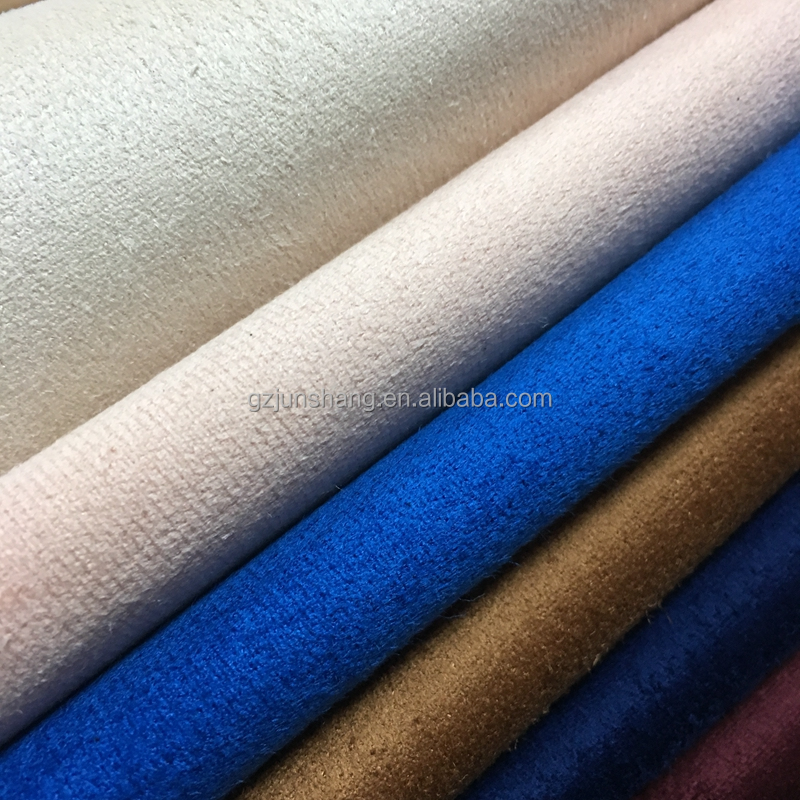 Velvet design for shoes material upper usage, can make different color and thickness