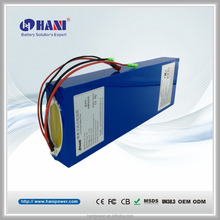 36V E-bike Battery 13.2Ah 10S6P Electric Bicycle Ebike Electric Scooter Battery with BMS