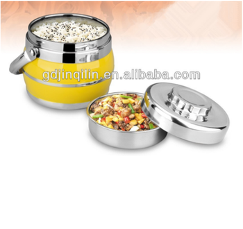 non toxic keep fresh stainless steel food package containerwith low price