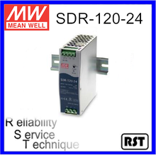 SDR-120-24 Single Output Taiwan Mean Well 120W 24V Industrial Din Rail Power Supply