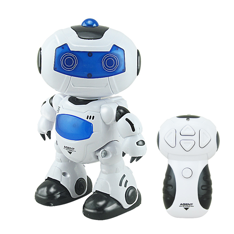 Children electronic dancing plastic educational robot kit for kids