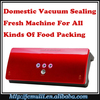 2016 hotsale model household vaccum preservation packer keep kitchen food storage