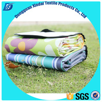 OEM Delicate Portable Waterproof Outdoor Picnic Mat Beach Camping Baby Climbing Plaid Blanket Family Camping Mat