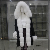 New Design Luxury Natural Fur Coat