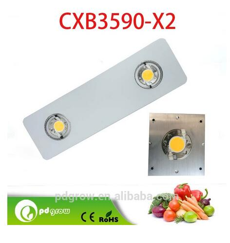 3 years warranty Red Blue 8 wavelength bands 200W 400w spider CXB3590 cob led grow light