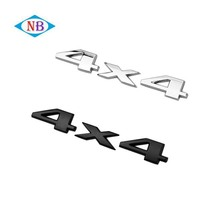 Cheap metal car letter badges emblems