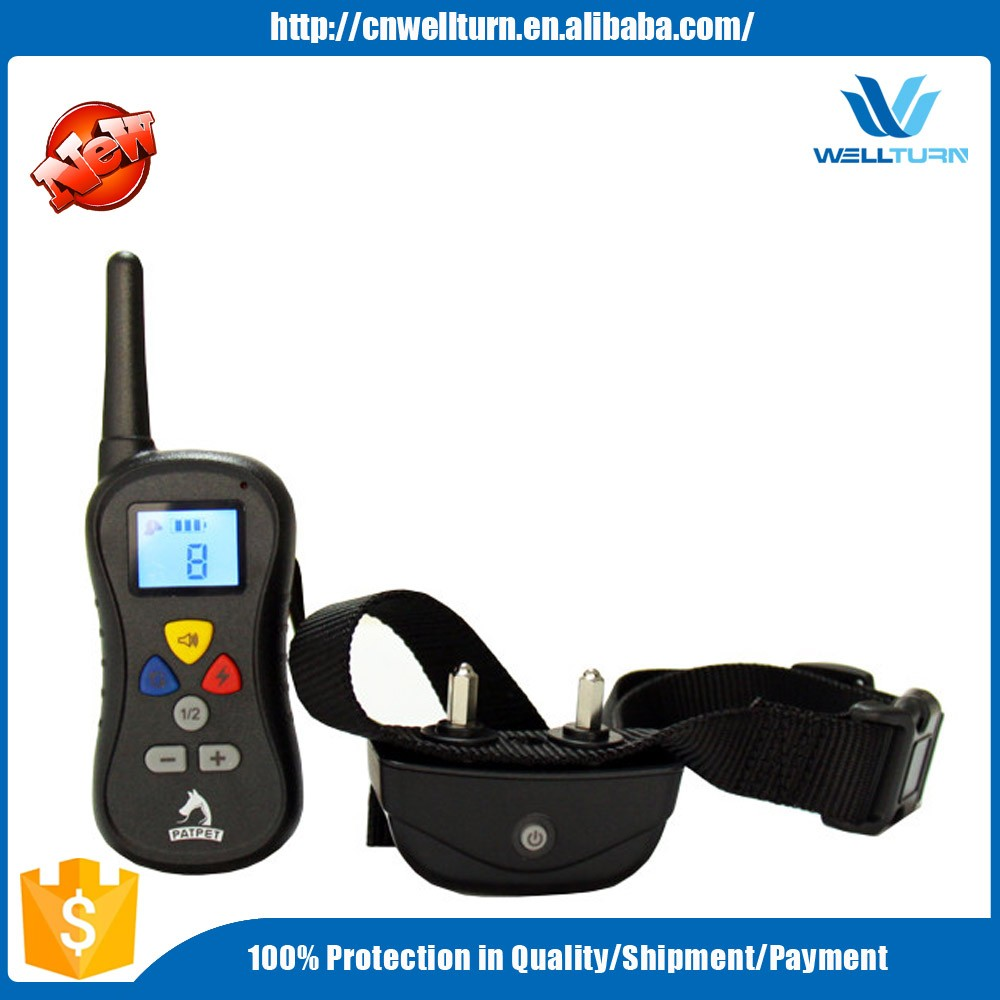Latest Technology Electric Range 300M Dog Training Device , Wireless Functional Waterproof Shock 2 Pet Dog Trainer PTS008
