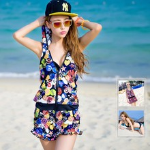Big Ladies Open Hot Sexy Girl Photo Muslim One Piece Connector Swimwear