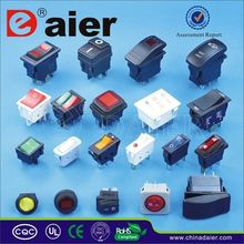 Daier 2pin mini on-off electromobile rocker switch