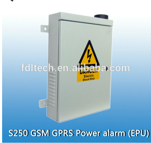 High quality, Unman station monitoring alarm device fdl-S250 GSM Alarm For Power Grid,transform,GPRS gsm sms power monitoring al