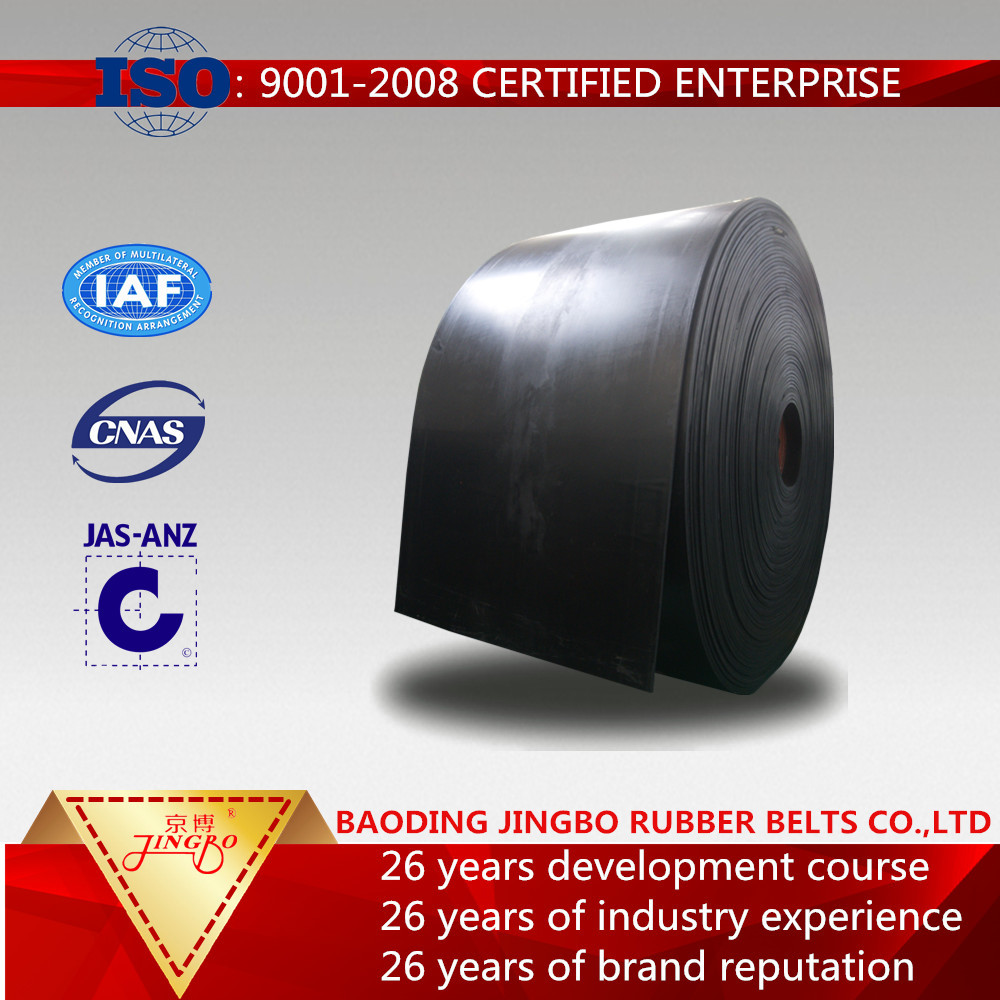 Hot selling Nylon Conveyor belt,Rubber belt with high quality,NN400/4-B500-4.5/1.5