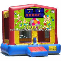 Sports Arena Bounce House, Inflatable Jumper Art Panel