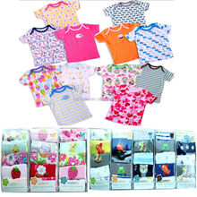 5pcs T-skirt sets, Baby Gift Set New Born Gifts Box Set Baby clothing,babyT-skirt