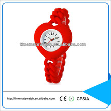 fashion silicone watch custom logo promotional quartz watch advance