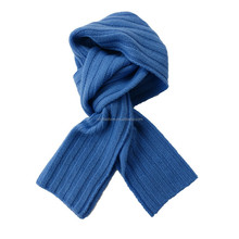 100% cashmere knit ribed men high quality scarf and shawl
