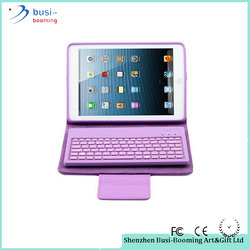 2016 High Quality Universal Bluetooth Flip Case Tablets Case With Keyboard Bluetooth For Ipad Mini 1/2/3