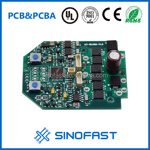 Shenzhen one-stop custom-made Fr4(Lead free) 32*48mm size 1.6mm forced tube electronic design circuit board manufacturer
