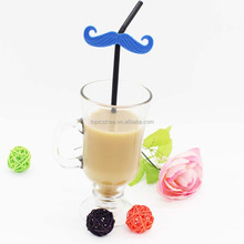 party supplies funny disposable mustaches flexible drinking straw