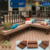 WPC swimming pool waterproof decoration easy installation decking