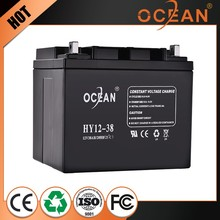 2014 hot 12v 40ah exide battery