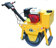 HaoHong mini vibratory road roller compactor machine used hydraulic walking system