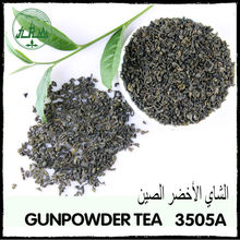 Factory price inclusion-free no pollution green tea health benefits/gunpowder green tea 3505a china