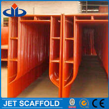 Portable pre-galvanized scaffolding gate frame for building