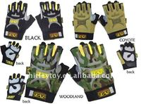 Airsoft tactical M half glove