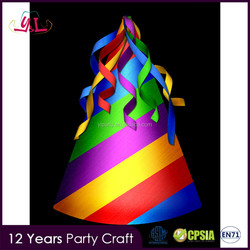 2016 Hot Selling Crazy Hat Party Ideas For Brithday Tarpaulin Sizes