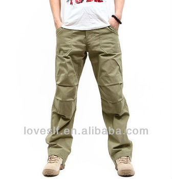 Loveslf factory wholesale stylish casual pants outdoor military hiking pants
