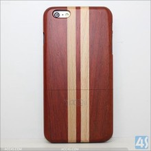 Genuine Real Natural Wooden Bamboo Hard Case Cover For Apple iPhone 6