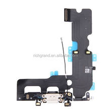 New Charging Dock Port USB Flex Cable with Mic Antenna for iPhone 7 Plus 5.5''