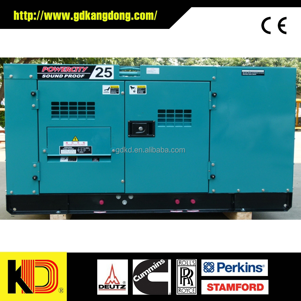 Fast delivery 100kw diesel generator, powered by Cummins 6BTA5.9-G2 engine